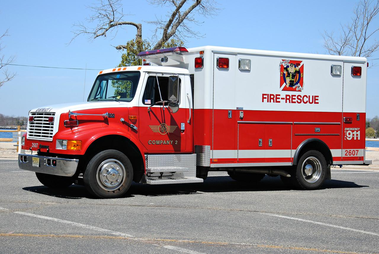 Toms River Fire Company #2 Techincal Rescue 2607