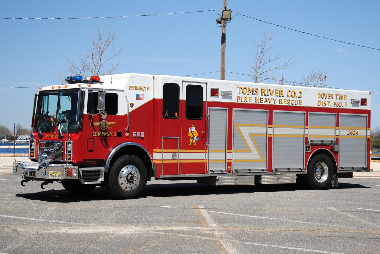 Toms River Fire Company #2 Heavy Rescue 2624