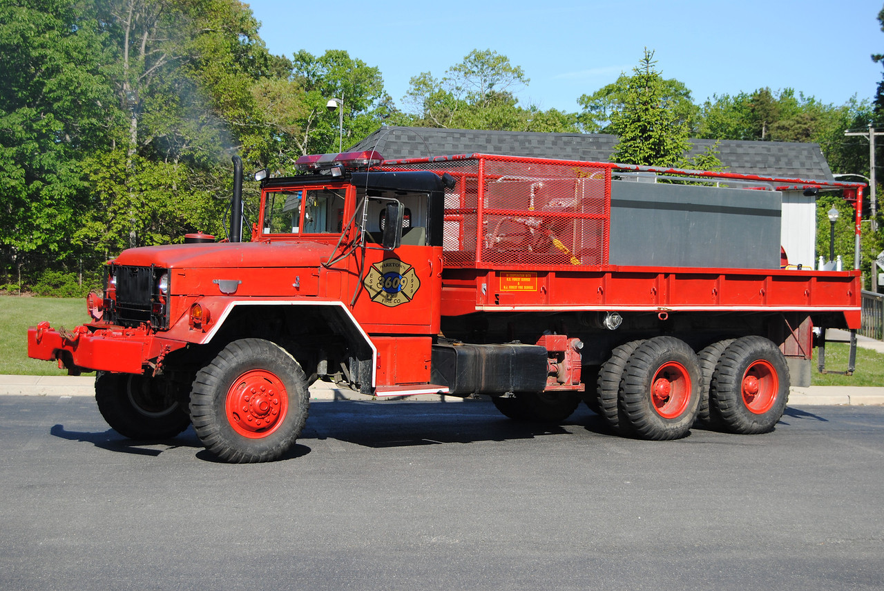 Ex-Waretown Fire Company Brush 3609