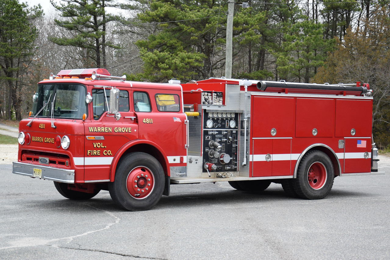 Warren Grove Fire Company Engine 4811