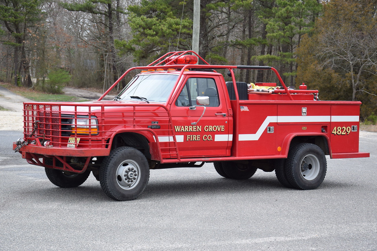 Warren Grove Fire Company Brush 4829