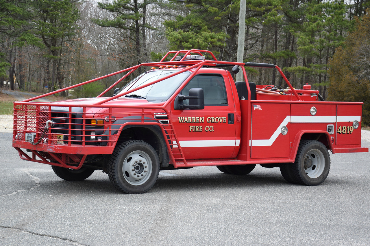Warren Grove Fire Company Brush 4819