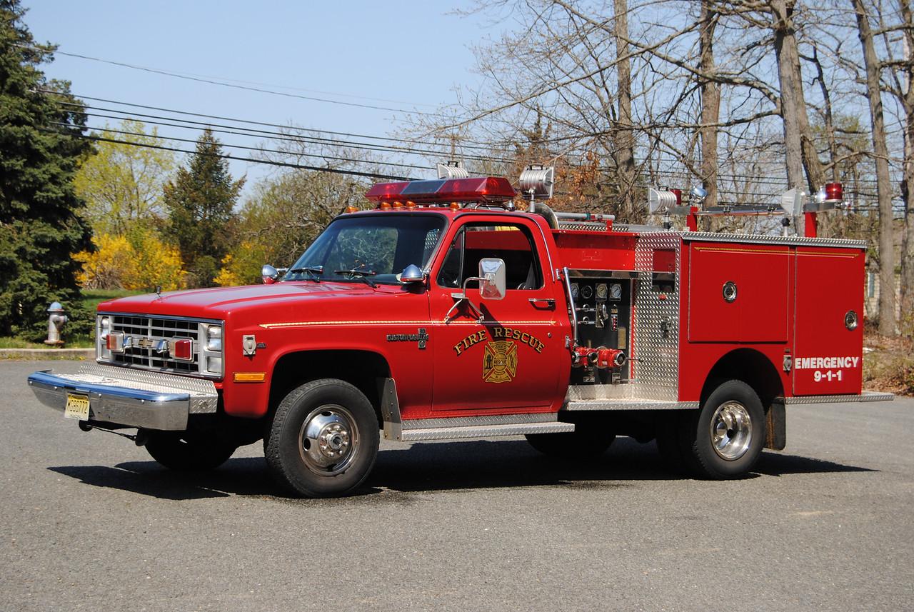 Whitesville Fire Company, Jackson Twp Ex-Mni-Engine 5707