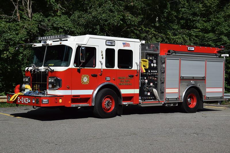 Erskine Lakes Fire Company Engine 243