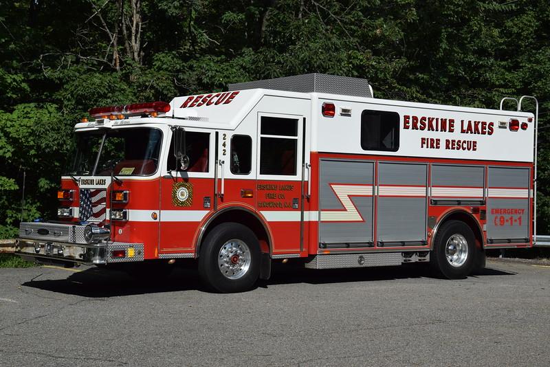 Erskine Lakes Fire Company Rescue 242