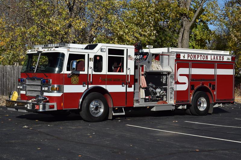 Pompton Lakes Fire Department Engine 51