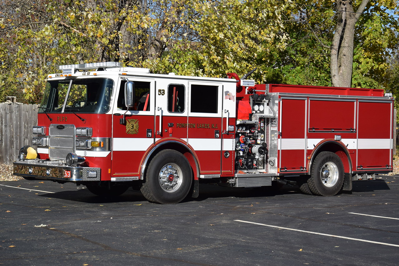 Pompton Lakes Fire Department Engine 53