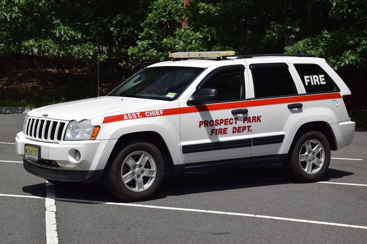 Prospect Park Fire Department Asst Chief