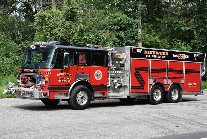 Ringwood Fire Company #1 Tanker 262