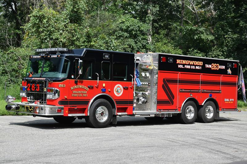 Ringwood Fire Company #1 Tanker 263