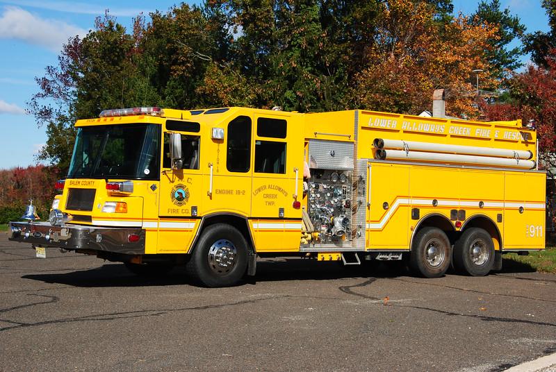 Lower Alloways Creek Fire Company, LAC Twp Engine 18-2