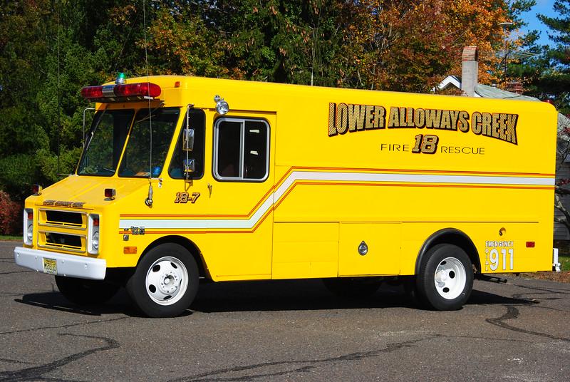 Lower Alloways Creek Fire Company, LAC Twp Utility 18-7