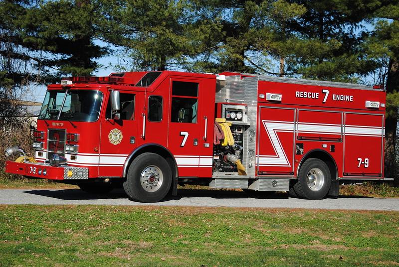 Deepwater Fire Company, Deepwater Rescue-Engine 7-9