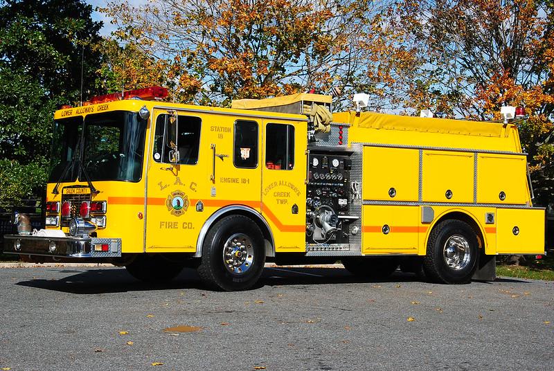 Lower Alloways Creek Fire Company, LAC Twp Engine 18-1