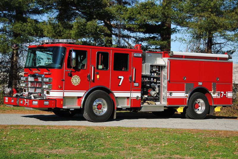 Deepwater Fire Company, Deepwater Engine 7-1