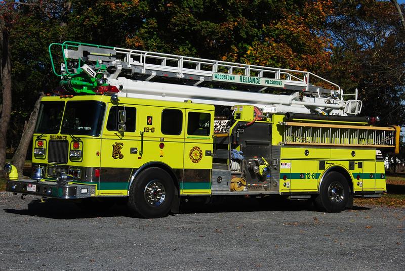 Reliance Fire Company, Woodstown Ladder 12-6