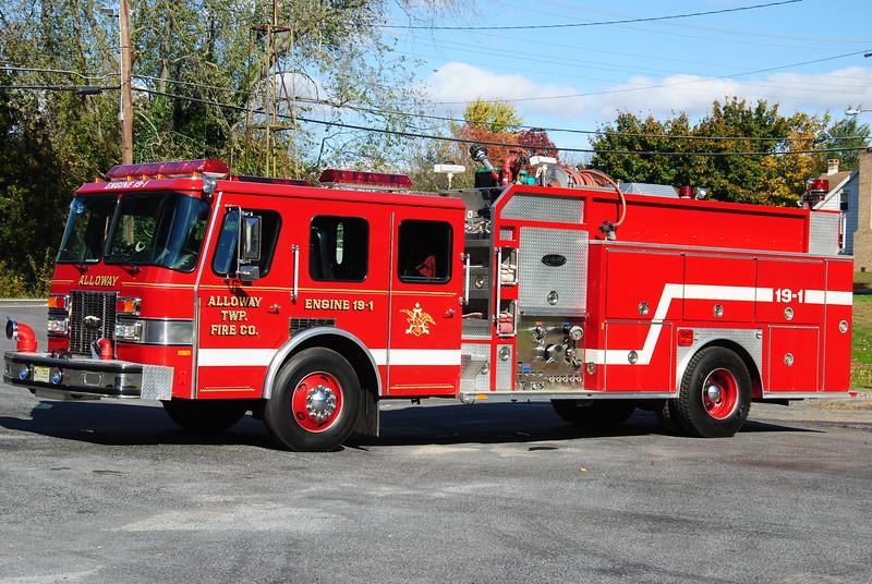 Alloway Fire Company, Alloway Twp Engine 19-1