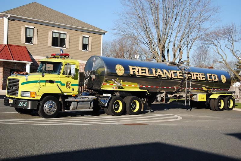 Reliance Fire Company, Woodstown & Pilesgrove Tanker 12-5