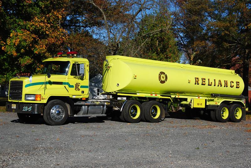 Reliance Fire Company, Woodstown Tanker 12-5