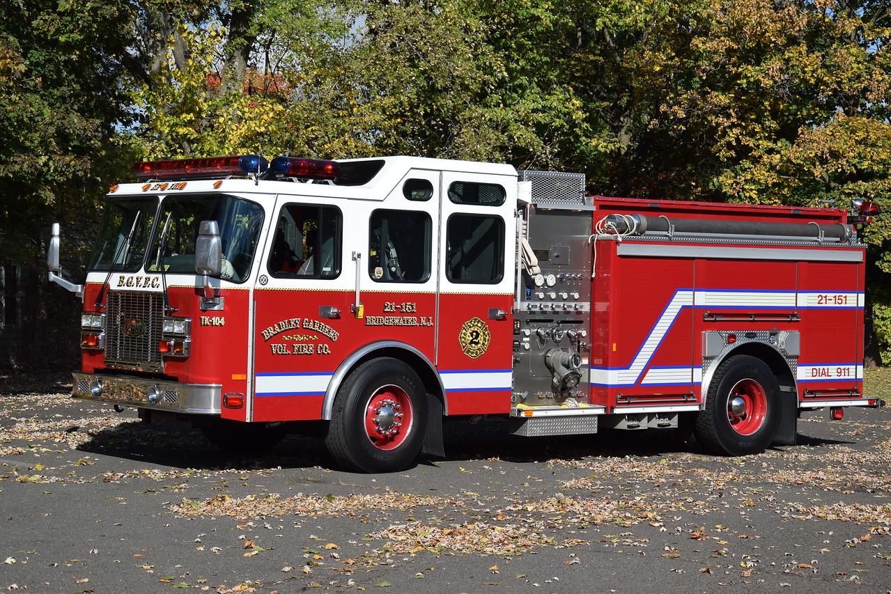 Bradley Gardens Fire Company Engine 1