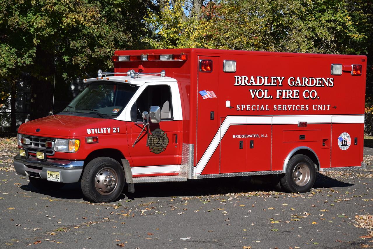 Bradley Gardens Fire Company Utility 21