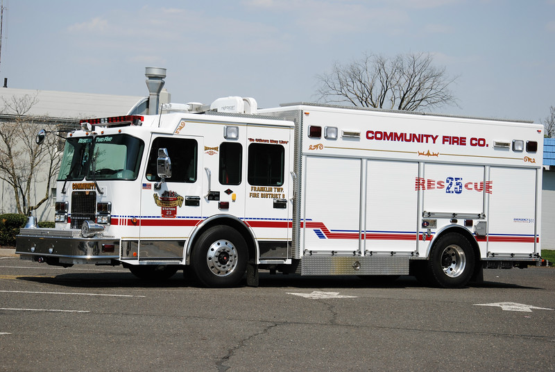 Community Fire Company Rescue 25
