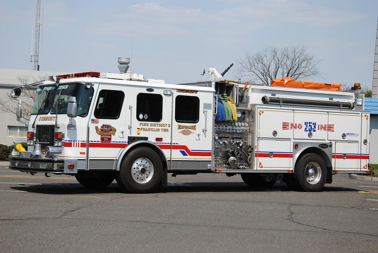 Community Fire Company, Franklin Twp Engine 253