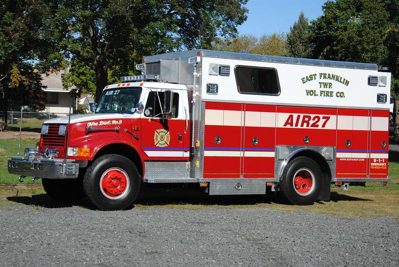 East Franklin Fire Company Air 27
