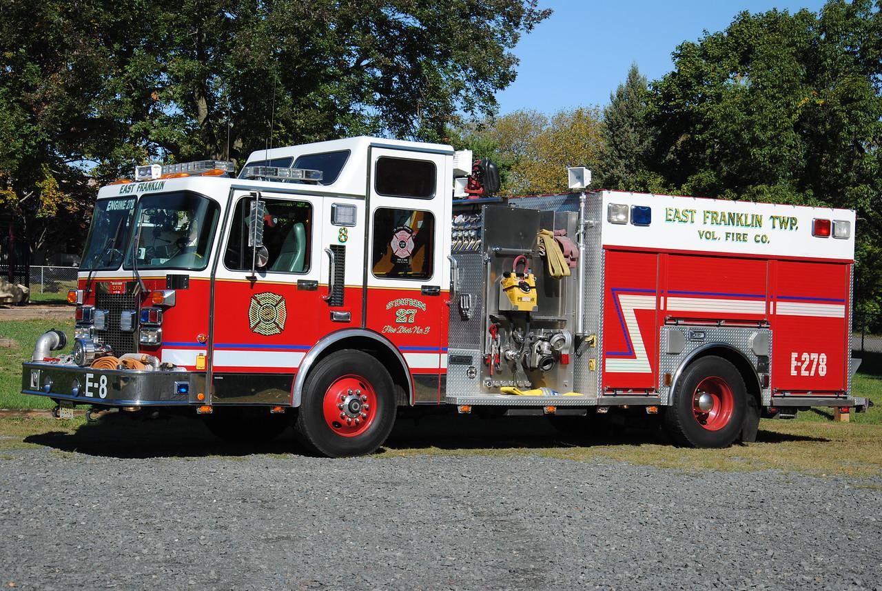 East Franklin Fire Company, Franklin Twp Engine 278