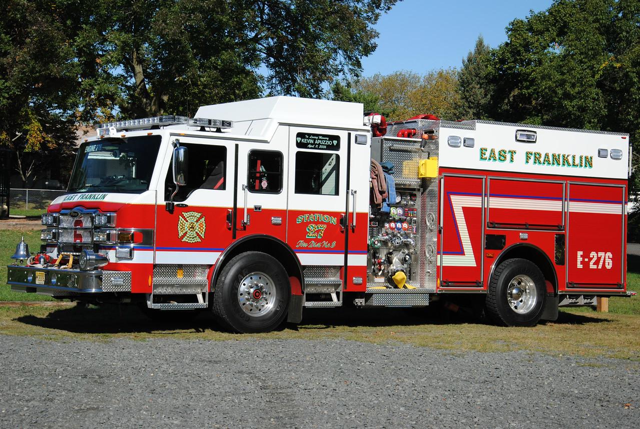 East Franklin Fire Company, Franklin Twp Engine 276