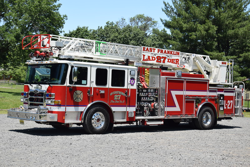 East Franklin Fire Company Ladder 27
