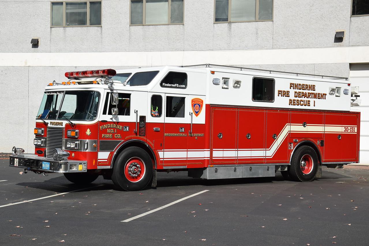 Finderne Fire Department Rescue 30