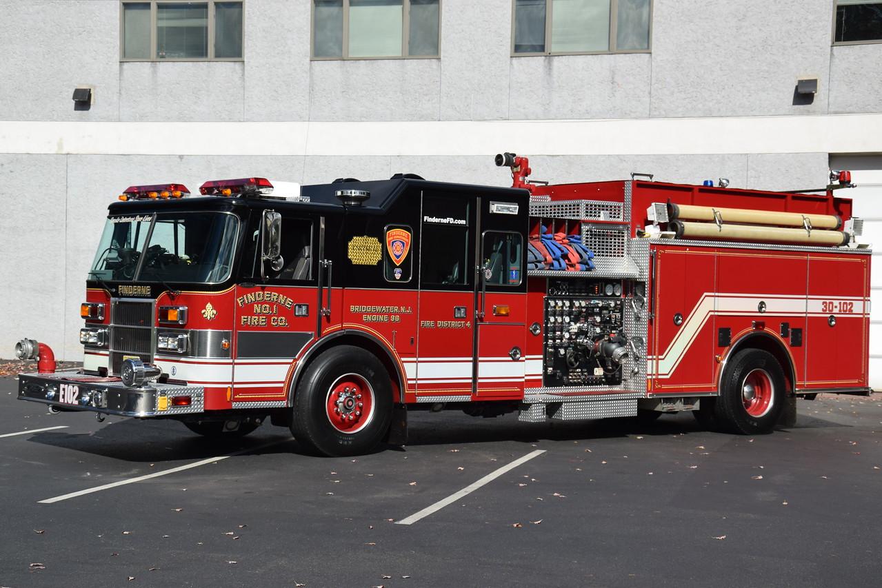 Finderne Fire Department Engine 302
