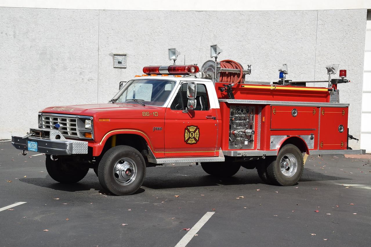 Finderne Fire Department Brush 30