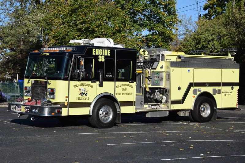Ex-Flagtown Fire Company Engine 36