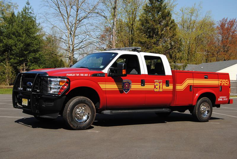 Franklin Park Fire Department Utility 31