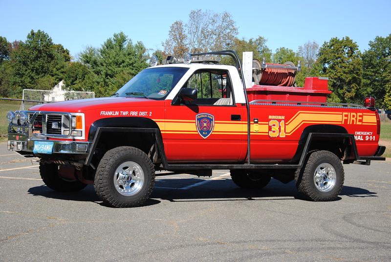 Franklin Park Fire Company Brush 31