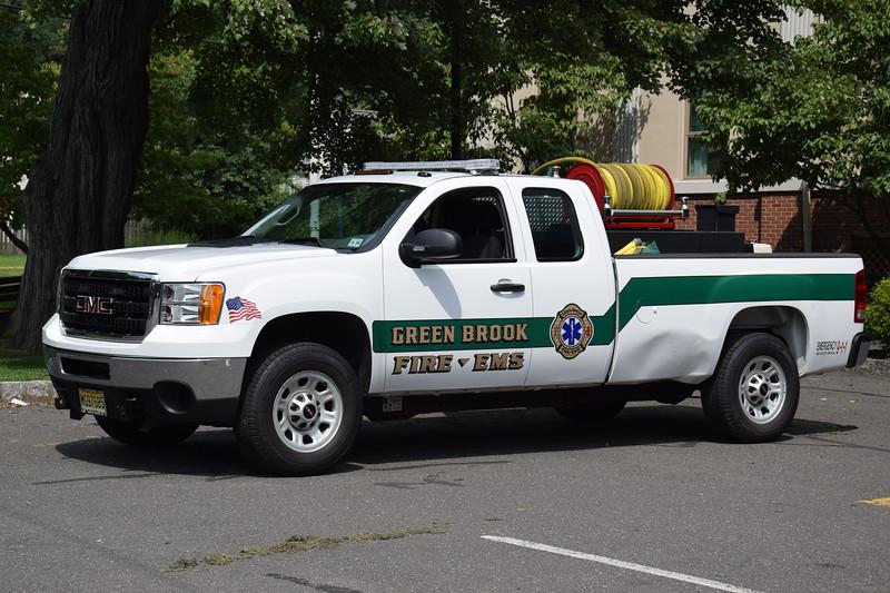 Green Brook Fire & EMS Brush 33