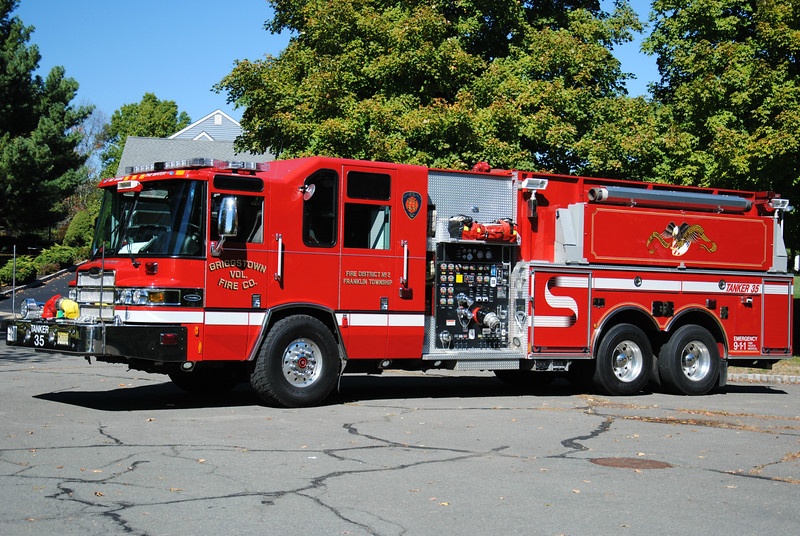 Griggstown Fire Company Tanker 35