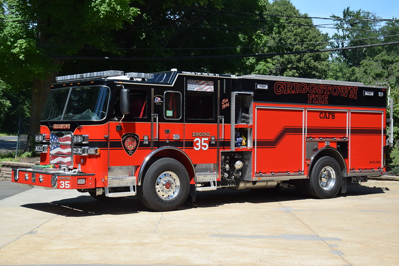 Griggstown Fire Company Engine 35