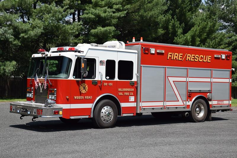 Hillsborough Fire Company No.3 Rescue 38