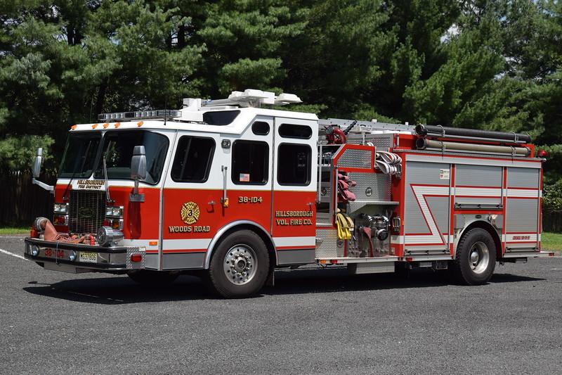 Ex Hillsborough Fire Company No.3 Engine 38