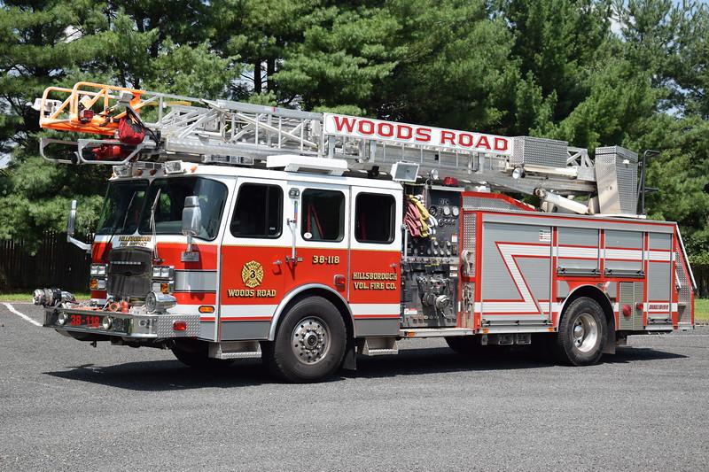 Hillsborough Fire Company No.3 Ladder 38