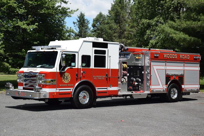 Hillsborough Fire Company No.3 Engine 38
