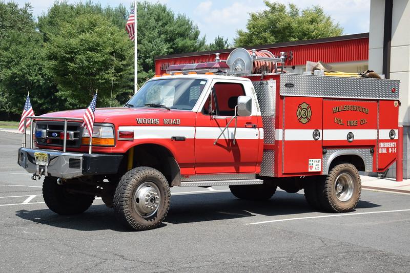 Ex Hillsborough Fire Company No.3 Brush 38