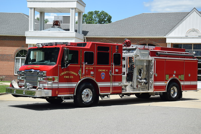 Liberty Corner Fire Company Engine 40