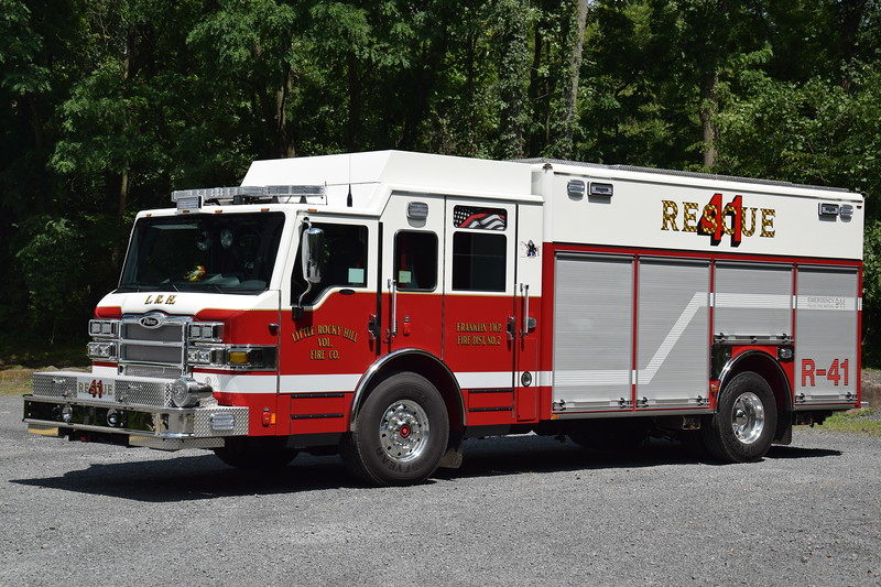 Little Rocky Hill Fire Company Rescue 41