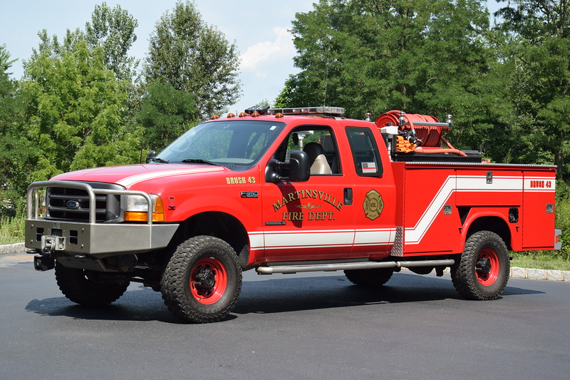 Martinsville Fire Department Brush 43
