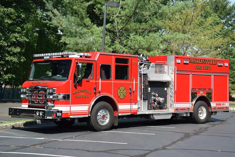 Martinsville Fire Department Engine 43-1