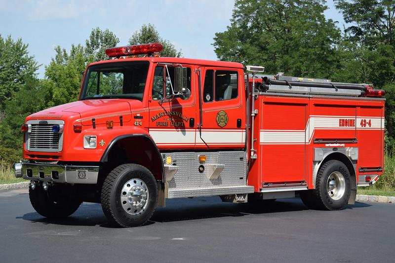 Martinsville Fire Department Engine 43-4